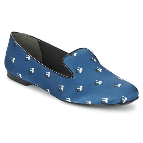 Shoes Women Ballerinas Kenzo 2SL110 Blue / Marine
