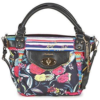 Bags Women Shoulder bags Desigual MC BEE CANCÚN Black / Multicoloured