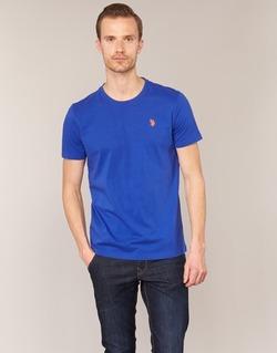 material Men short-sleeved t-shirts U.S Polo Assn. DBL HORSE Blue
