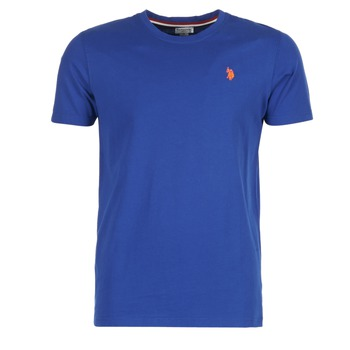 material Men short-sleeved t-shirts U.S Polo Assn. DBL HORSE Blue