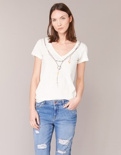material Women short-sleeved t-shirts Oxbow TWIN White
