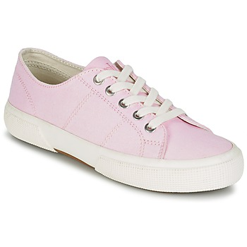 Shoes Women Low top trainers Ralph Lauren JOLIE SNEAKERS VULC Pink