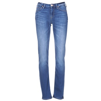 material Women slim jeans Lee ELLY Blue / Medium