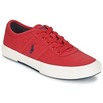Shoes Men Low top trainers Ralph Lauren TYRIAN Red