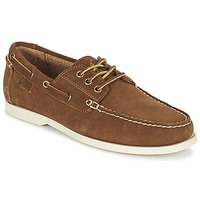 Shoes Men Boat shoes Ralph Lauren BIENNE II Brown