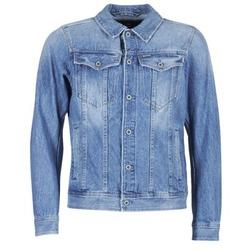 material Men Denim jackets G-Star Raw 3301 DECONSTRUCTED 3D SLIM Blue