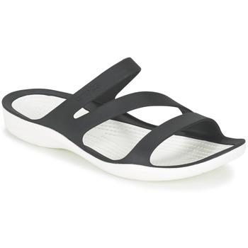 Shoes Women Sandals Crocs SWIFTWATER SANDAL W Black / White