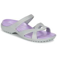 Shoes Women Sandals Crocs MELEEN TWIST Grey