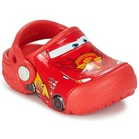 Shoes Children Clogs Crocs Crocs Funlab Light CARS 3 Movie Clog Red