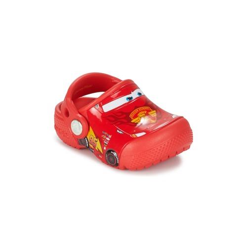 Shoes Children Clogs Crocs Crocs Funlab Light CARS 3 Movie Clog Red