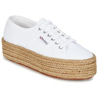 Shoes Women Low top trainers Superga 2790 COTROPE W White
