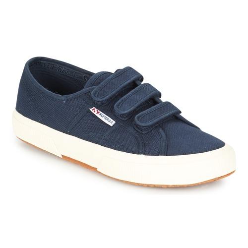 Shoes Low top trainers Superga 2750 COT3 VEL U Marine