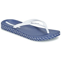 Shoes Women Flip flops Ipanema ANATOMIC SOFT White / Blue