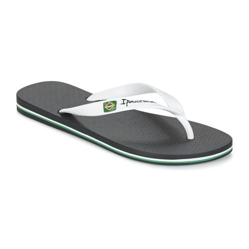 Shoes Men Flip flops Ipanema CLASSICA BRASIL II Black / White
