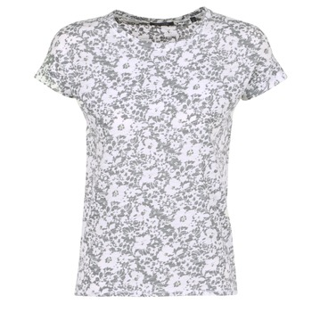 material Women short-sleeved t-shirts Marc O'Polo BRIDELOPAC Grey / White