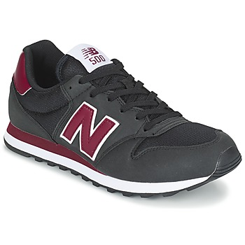 Shoes Low top trainers New Balance GM500 Black / BORDEAUX
