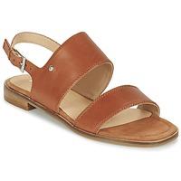 Shoes Women Sandals Marc O'Polo MIKILOP Cognac