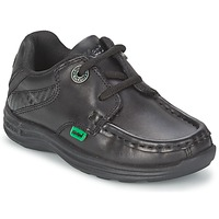 Shoes Children Boat shoes Kickers REASON LACE Black