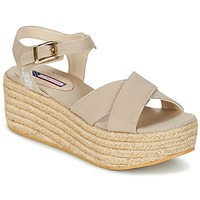 Shoes Women Sandals U.S Polo Assn. RHODA Beige