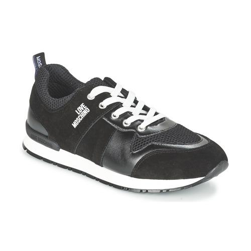 5962374422 Love Moschino JA15062G13 Black - Free delivery | Spartoo NET ...