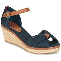 Shoes Women Sandals Tommy Hilfiger ELBA 40D Marine / Brown