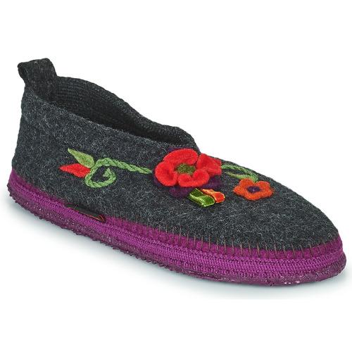 Shoes Women Slippers Giesswein TANGERHÜETTE Anthracite