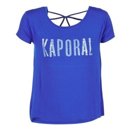 material Women short-sleeved t-shirts Kaporal NIZA Blue