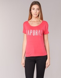 material Women short-sleeved t-shirts Kaporal NIZA Pink
