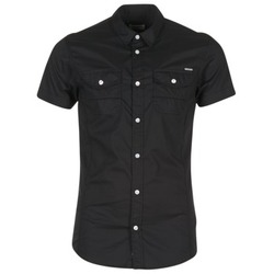 material Men short-sleeved shirts Kaporal RAC Black