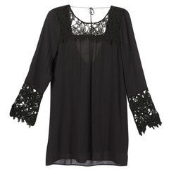 material Women Short Dresses Billabong OPEN HORIZON DRESS Black