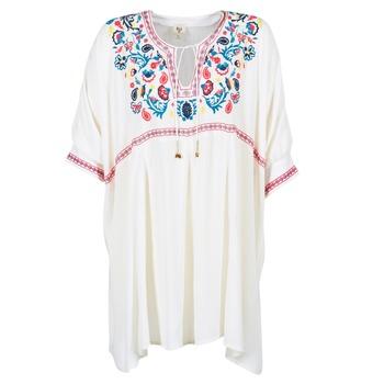 material Women Short Dresses Billabong MYSTIC DRESS ECRU