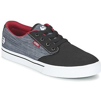 Shoes Men Low top trainers Etnies JAMESON 2 ECO Black / Grey / Red