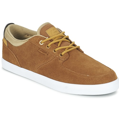 Shoes Men Low top trainers Etnies HITCH Brown