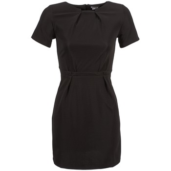 material Women Short Dresses Kling BACON Black