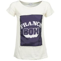 material Women short-sleeved t-shirts Kling WARHOL White