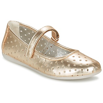 Shoes Girl Ballerinas Primigi FANTASY FLAT GOLD