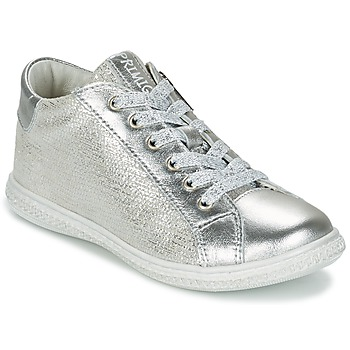 Shoes Girl Low top trainers Primigi SUTRE Silver