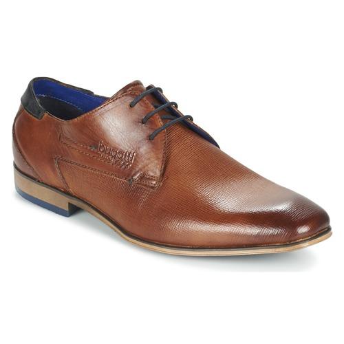 Shoes Men Derby shoes Bugatti CALETTE Cognac