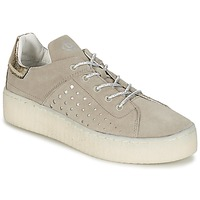 Shoes Women Low top trainers Bugatti AUTERATE Taupe