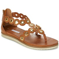 Shoes Women Sandals Bugatti BRETE COGNAC