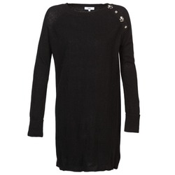 material Women Short Dresses Suncoo CHARLIE Black