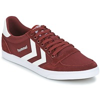 Shoes Low top trainers Hummel STADIL CANEVAS LOW Bordeaux