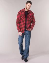 material Men bootcut jeans Levi's 527 LOW BOOT CUT Blue
