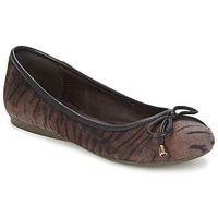 Shoes Women Ballerinas Moony Mood LIESA Brown