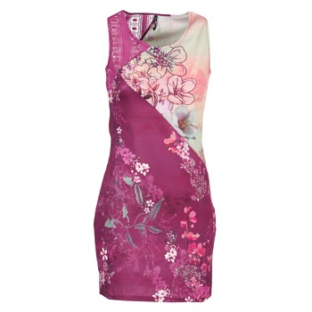 material Women Short Dresses Smash GRETCHEN Pink