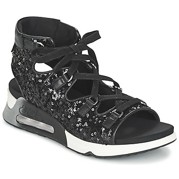 Shoes Women Sandals Ash LIV Black