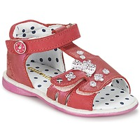 Shoes Girl Sandals Catimini PUCE Pink