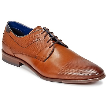 Shoes Men Derby shoes Daniel Hechter ANKRILO COGNAC