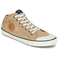 Shoes Men High top trainers Pepe jeans INDUSTRY EARTH CAMEL