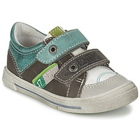 Shoes Boy Low top trainers GBB PHIL White-green / Dpf / Snow